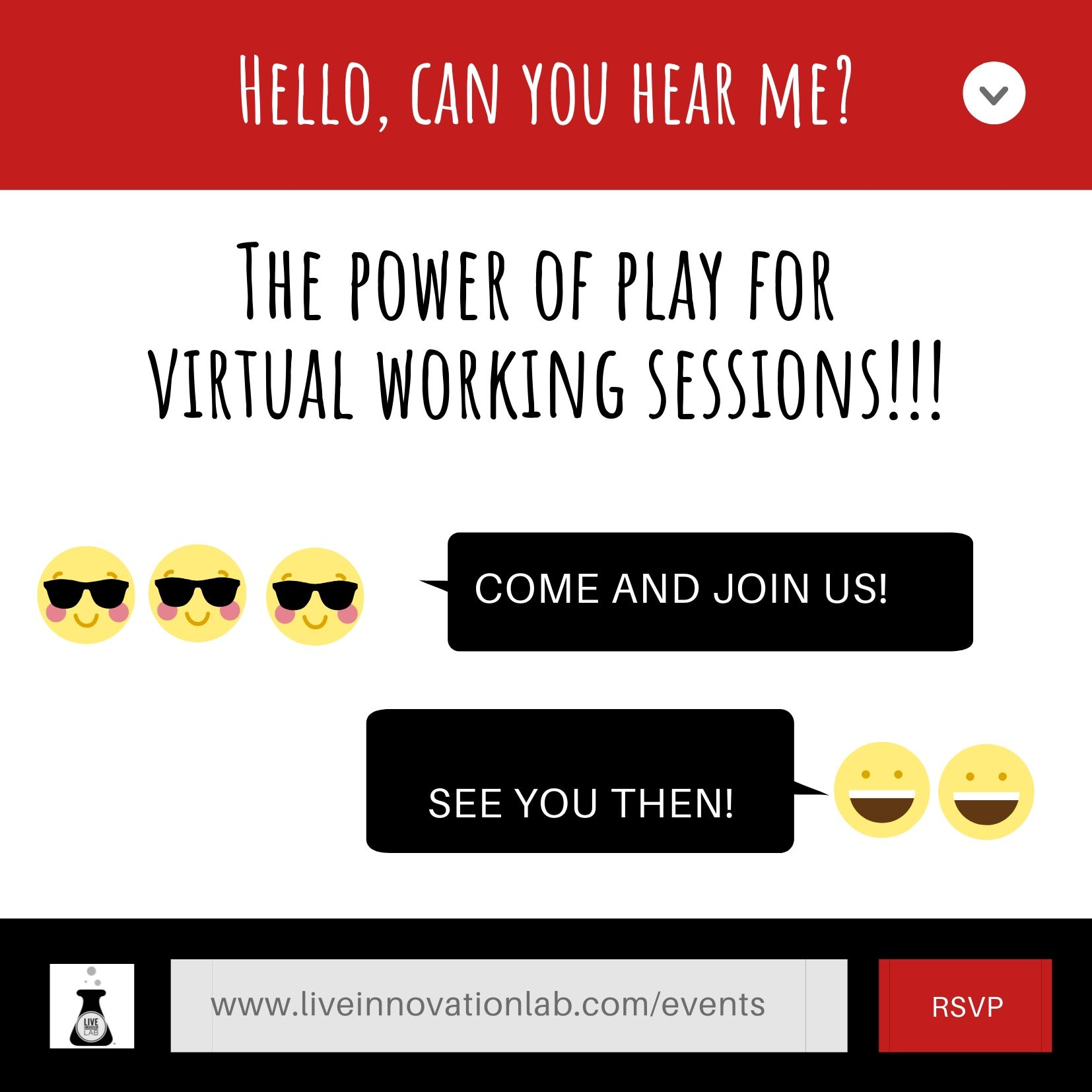 The power of play for virtual working sessions!!!