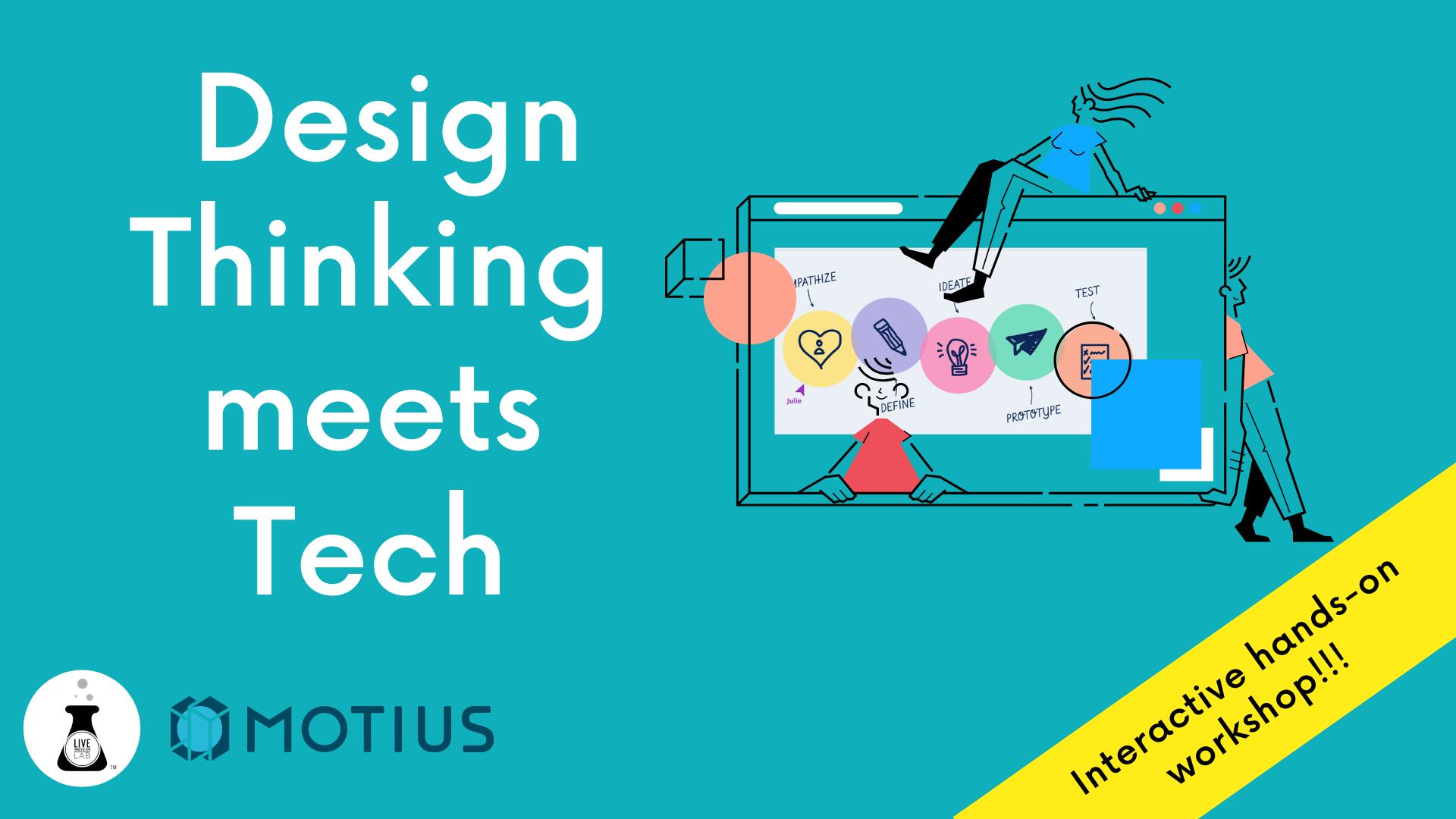 Web_Design Thinking meets Tech w Motius Logo